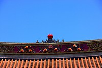 Rooftop of Chinese architecture