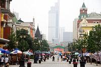 China, Liaoning Province, Dalian, Russian Street