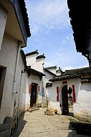 Ancient residential houses, Hongcun village, Anhui Province, China, Asia