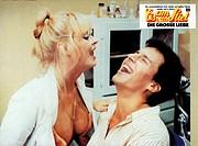 C, Film, Eis am Stiel 5 _ Die große Liebe, Roman Za´ir, ISR/BRD 1984, Regie: Dan Wolman, Szene mit: Jonathan Sagall und Bea Fiedler, Original Aushangb...