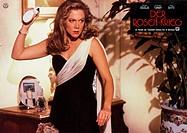 C Film, Der Rosenkrieg The War of the Roses, USA 1989, Regie: Danny DeVito, Szene mit: Kathleen Turner, ORIGINAL AUSHANGBILD Frau, Streit, streiten, s...