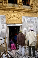Amritsar India Entrance To The Golden Temple _ Sri Harmandir