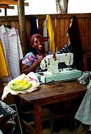 Seamstress, Ngonini, Swaziland