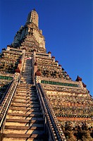 Thailand, Bangkok, Wat Arun, Temple of Dawn