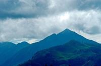 MOUNTAIN RANGES OF THE KANNAN DEVAN HILLS OF WESTERN GHATS, MUNNAR