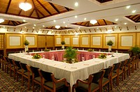 BANQUET HALL OF MASCOT HOTEL, KTDC, TRIVANDRUM