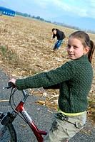 Girl bike.
