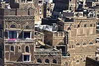 Asien, Jemen, Sanaa, Altstadt, Detailansicht