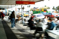 St. Kilda Market and Cafe´s Melbourne.July 2003. Photography David Ewing