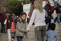 Little girl school