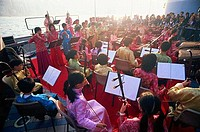 Kowloon, Tsim Sha Tsui, Chinese Orchestra Performance, Hong Kong, China