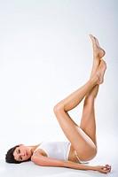 Woman legs.