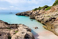 Calo Blanc, Minorca, Balearic Islands, Spain