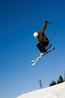 Skier jump