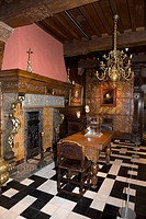 Belgium _ Flanders _ Antwerp _ Rubenhuis, home and workshop of Peter Paul Rubens _ Dining room