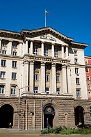 Bulgaria _ Sofia _ Capital City _ Building _ Largo