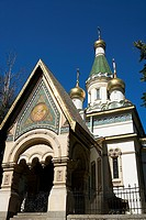 Bulgaria _ Sofia _ Capital City _ Russian Church Saint_Nicolas