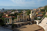 Bulgaria _ North_West Region _ Rhodope Mountains _ Plovdiv _ Old City _ Roman Stadium