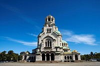 Bulgaria _ Sofia _ Capital City _ Alexander Nevski Cathedral