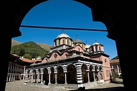 Bulgaria _ South West _ Rila Monastery _ a UNESCO World Heritage Site