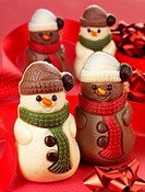 Christmas Chocolate Snowmen