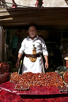 venditore di datteri, sana´a, yemen