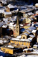 The village of Saint Etienne de Tinee, Mercantour national park Alpes-maritimes 06 PACA France Europe
