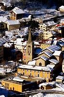 The village of Saint Etienne de Tinee, Mercantour national park Alpes-maritimes 06 PACA France Europe