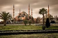 Sultanahmet Mosque, Istambul, Turkey