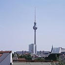 City skyline featuring the Television Tower, Berlin, Germany