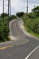 Country road, Dominican Republic, Caribbean