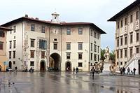 Piazza dei Cavalieri, Pisa. Italy
