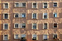 Wall with windows, Valencia, Spain