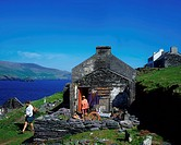 Blaskets Islands, Dingle Peninsula, Co Kerry, Ireland, Craft shop