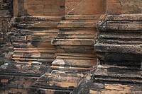Si Khoraphum Sanctuary, Sikhoraphum, Thailand, Ancient columns