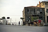 Carriage on Buyukada Island, Istanbul, Turkey