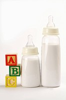 Baby Bottle, Block,