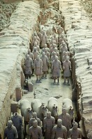 Asia,China,Shanxi,Xi´an,LinTong,Terra_cotta Museum Pit 1,Warrior,UNESCO,World Cultural Heritage