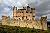 Castle, Turegano. Segovia province, Castilla-Leon, Spain