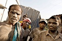 Cement workers, from Jessore to Dhaka, Bangladesh