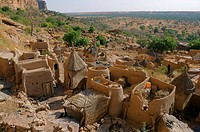Ireli village, Bandiagara Escarpment, Dogon Country, Mali