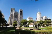 Usa, California, San Francisco, Grace Cathedral