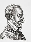 Remy Belleau 1528 - 1577  French Renaissance poet  From Science and Literature in The Middle Ages by Paul Lacroix published London 1878