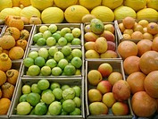 Fruits commerce, São Paulo, Brazil