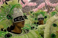 Carnival, Parade of the Schools of Samba 2006, Rio de Janeiro, Brazil