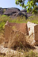 Ruins, Track of a House, Caracol, Piauí, Brazil