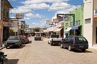 Street Commercial, São Raimundo Nonato, Piauí, Brazil