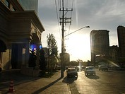 Sunset, City, Juscelino Kubitschek Avenue, Itaim B