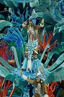 Imperatriz, Carnaval, Rio de Janeiro, Brazil