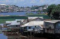 Stilts, Manaus, Amazonas, Brazil